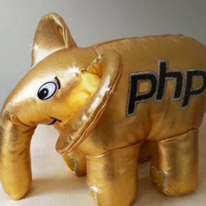 Golden elePHPant
